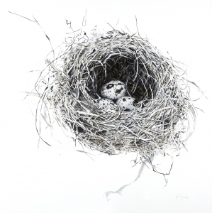 Nest Hortansia Small Print